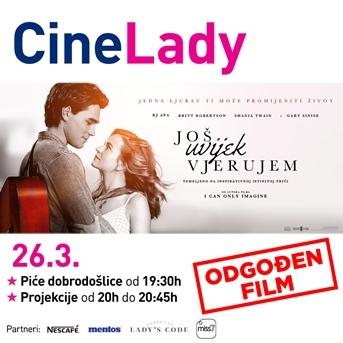 Otkazana CineLady projekcija